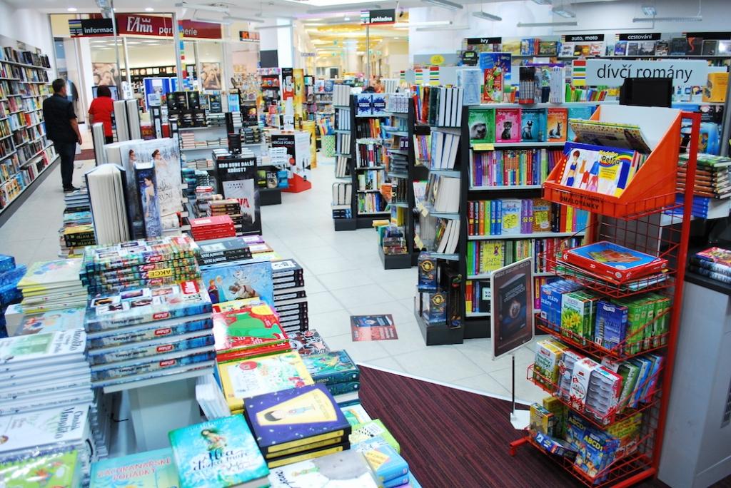 Prodej knih na Slovensku